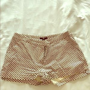 Shorts size 6 black and white polka dots from h&m